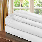 Chic Home Pleated Microfiber Sheet White - Twin, Full, Queen, King
