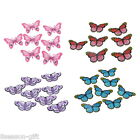 5PCs Embroidered Patches For Clothes Garments Iron-on Sew-on Butterfly