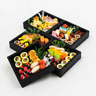 1PCS x Box Set Sushi Roll Bento 1:12 Miniature Dollhouse Handmade Food A1447