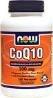 CoQ10, 100mg with Hawthorn Berry - 180 vcaps - Supports Healthy Heart Muscle