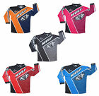 Wulfsport Crossfire Kid Child Junior Race Shirt Jersey Top MX Motocross Pitbike