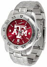 Texas A&M Aggies Watch Anochrome Color Dial Ladies or Mens