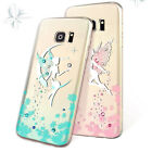 Tinker Bell Slim TPU Case For Samsung Galaxy S7 Edge With Austria Crystsal
