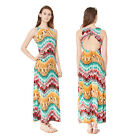 Stella Morgan Designer Womens Feather Maxi New Ladies Swing Cut Open Back Dress