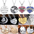 letter pendant alloy i love you necklace family friend gift new chain 20style