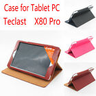 "Protective Flip PU Leather Case Stand Cover For 8.0"" Teclast X80 Pro Tablet PC"