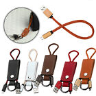 KeyChain Micro USB Data Sync Charger Cable Keychain for Samsung LG HTC Cellphone