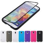 New Flip Clear Touch Protector Cover TPU Soft Gel Case For Samsung Galaxy S5