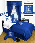 Duke University Locker Room Comforter & Sham Set Twin Full Queen Size LR