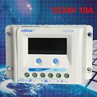 EPEVER 10A 20A 30A 12 24V LCD Solar Panel Battery Regulator Charge Controller WT