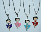 Betty Boop Pendants on Stainless Steel ball chain made in the USA $10.28 CAD