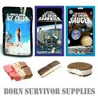FREEZE-DRIED SPACE ICE CREAM, SAUCER & SANDWICH - Astronaut Food Science Gift