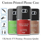 TULLUN DESIGNS PERSONALISED CUSTOM NAIL POLISH BOTTLE HARD CASE FOR SAMSUNG S