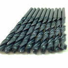 10 PACK OF HSS METRIC ROLL FORGED BLACK METAL JOBBER DRILL BIT - ALL DIAMETERS