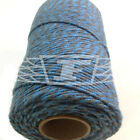 BEAUTIFUL BAKERS TWINE SLATE GREY / SKY BLUE 2mm 2 PLY - STRING CORD TWO TONE