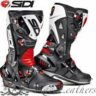 SIDI VORTICE BLACK RED WHITE MOTORCYCLE MOTORBIKE SPORTS BIKE RACE BOOTS