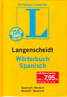 Langenscheidt WORTERBUCH SPANISH-DEUTSCH-SPANISH / Espanol, Aleman @NEW@