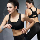 Wirefree Sports Bra High Intensity Shakeproof Gym Running Tank Top Vest