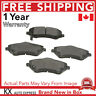 FRONT CERAMIC BRAKE PADS FOR JEEP LIBERTY 2008 2009 2010 2011 2012 D1273