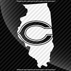 Chicago Bears Illinois IL State Pride Decal Sticker - TONS OF OPTIONS $7.99 USD on eBay
