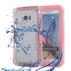 Shockproof Waterproof Case Full Cover Samsung Galaxy S10+ S10e Note8/9/10+ S6/S7