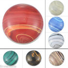 """1PC Striped Resin Buckle Snap Resin Button for Snap Bracelet Jewelry 18mm( 6/8"""")"""