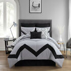 VCNY Marcella 8 Piece Comforter Set Grey