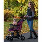 Pet Gear Happy Trails Lite NO-ZIP Stroller in Boysenberry,  Jaguar or Pine Green