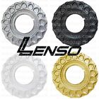 LENSO BSX CENTRE PLATE DISC WAFFLE SPARE PART SILVER GOLD BLACK WHITE