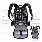 Large DSLR Camera Backpack Bag Insert Case for Canon Nikon Rain Cover KF Concept
