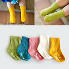 "Vaenait Baby Toddler Socks Kids Girls Boys Stripe Anti Slip Boots ""Runrun"" 0M-8T"