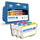 REMANUFACTURED (NON GENUINE) 16XL - 3 COLOUR INK CARTRIDGE MULTIPACK FOR EPSON