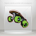 Stickers Decal Skateboard Car Motorbike Bike polymeric vinyl Garage mtv X5695