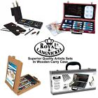 Royal & Langnickel Artists Sets Sketching Oil Acrylic Watercolour Chest Case Box