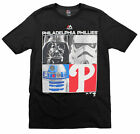 MLB Youth Philadelphia Phillies Star Wars Main Character T-Shirt, Black