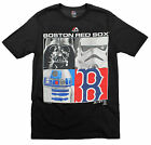 MLB Youth Boston Red Sox Star Wars Main Character T-Shirt, Black