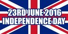 BREXIT Independence Day Union Jack Flag Great Britain Sticker Self Adhesive