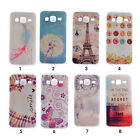 Patterned Soft TPU Silicone Cover Back Case Cover Skin For Samsung Galaxy Phone