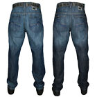 MENS LOYALTY & FAITH L603560 DESIGNER STRAIGHT LEG JEANS ALL WAIST & LEG SIZES