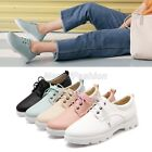 Womens Ladies 2016 Summer New Comfort Lace Up Oxford Casual Shoes 5 Colors 592-A