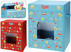 Childrens Large Fabric Toy Box with Lid Toy Box Room Tidy Toy Storage Box
