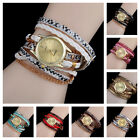 Women Fashion Watches Quartz Multilayer Bracelet Watch Dress Ladies Wristwatches