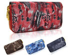 Fashion Womens Canvas Designer Zipper Long Purse Ladies Wallet Coin Purse Card H