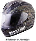 Scorpion - EXO-R410 M2010 Race Helmet - Snell Rated Full Face Motorcycle Karting