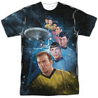 Star Trek Original Series Cast Among the Stars 1-Sided Print Poly Shirt S-3XL on eBay