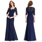 Sexy Retro Long Bridesmaid Prom Dress Formal Evening Party Cocktail Guest Gown