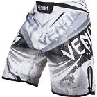 Venum Galactic Fight Shorts (White Ice) - bjj mma ufc