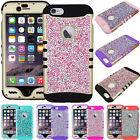 Rock DIAMONDS Crystal Bling Shock Proof Impact Armor Cover Case for Cell Phones