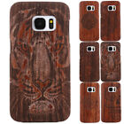 Natural Wooden Wood Bamboo Hard Case Shell For Samsung Galaxy S6 S7 Edge Note4 5
