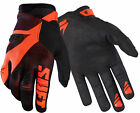 Shift Racing Black/Orange Black Label Pro Mainline Dirt Bike Gloves MX ATV BMX